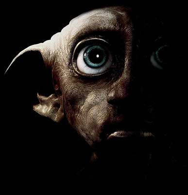 Dobby's head the dark